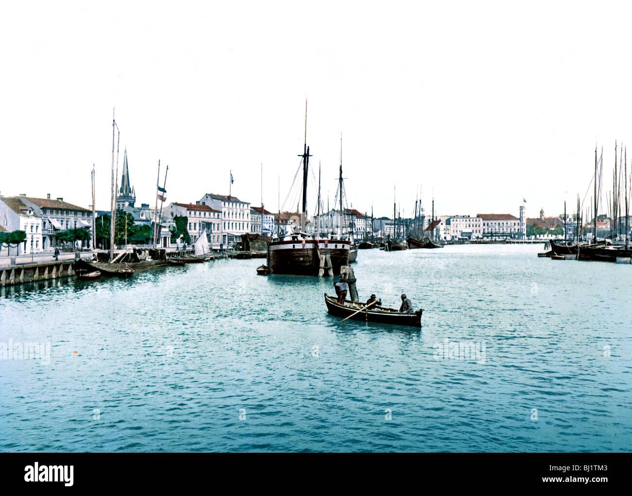 Hafen Swinemunde Stock Photo