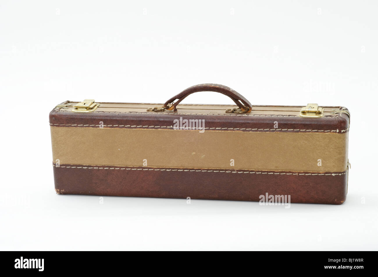 Old, beat up flute case Stock Photo: 28315975 - Alamy