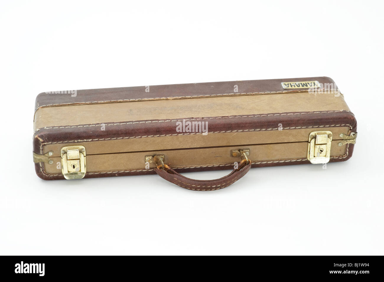 Old, beat up flute case Stock Photo: 28315984 - Alamy