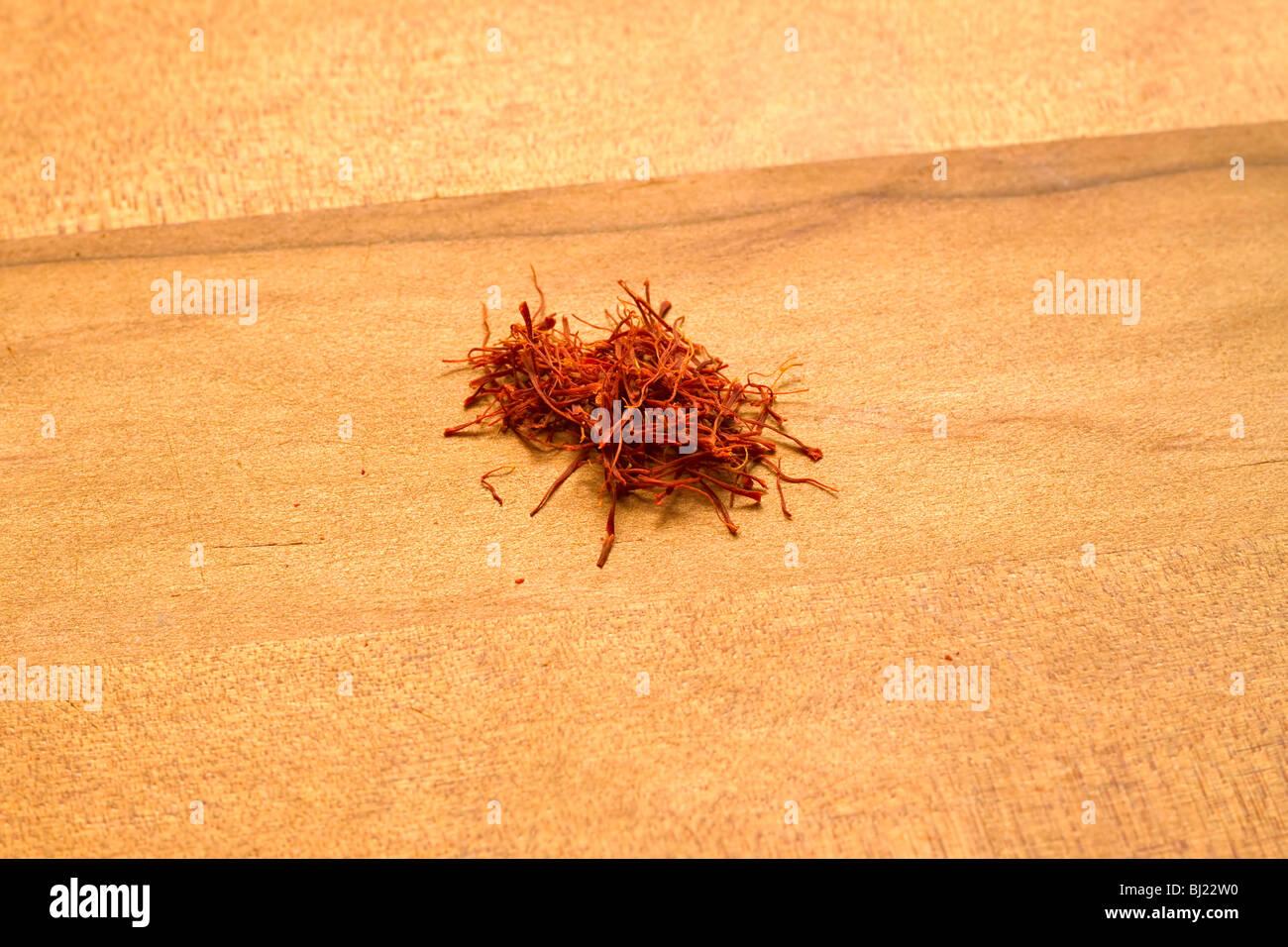 Saffron - Stock Image