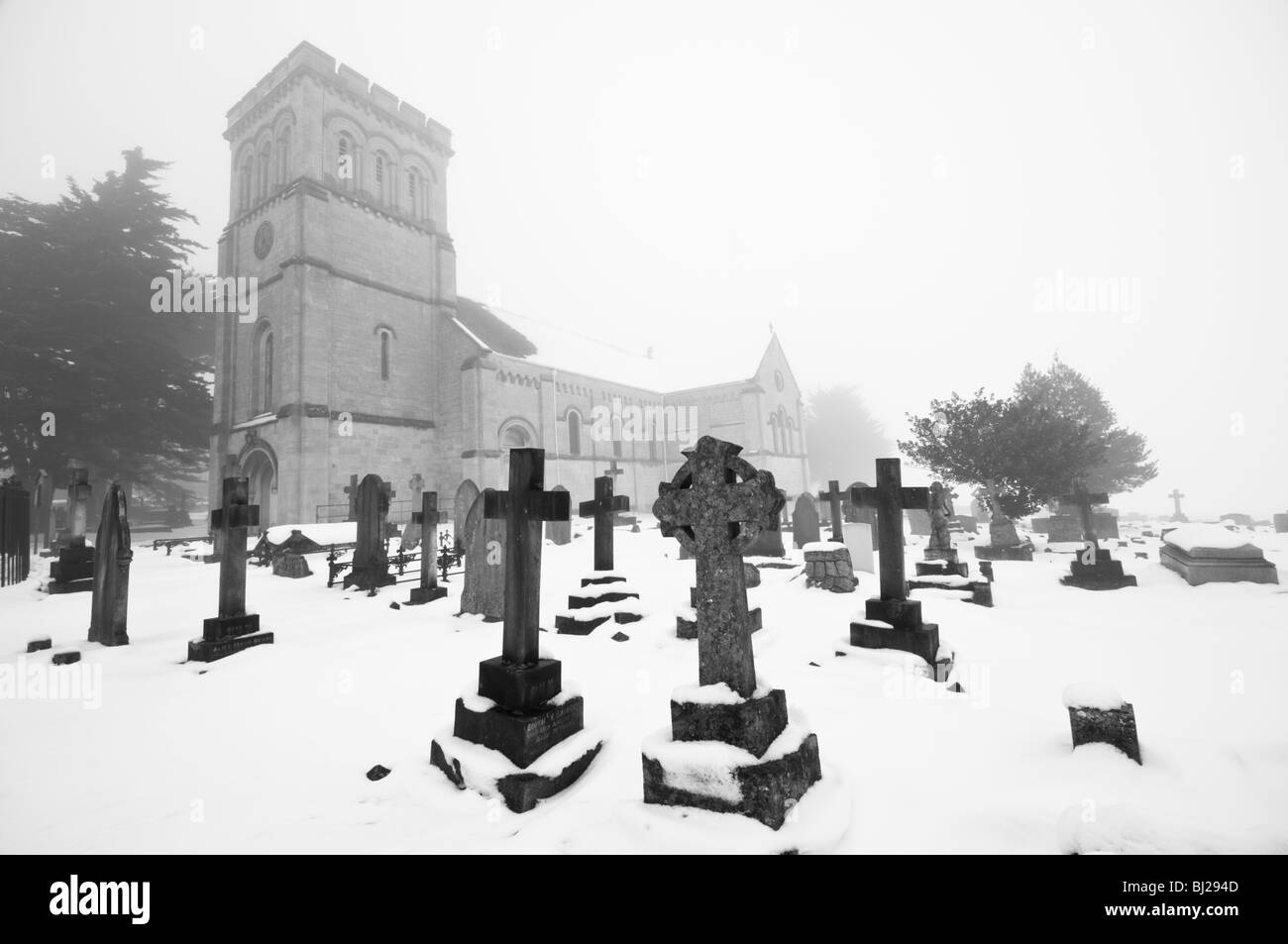 St Pauls Church, Whiteshill, Stroud, Gloucestershire, UK - Stock Image