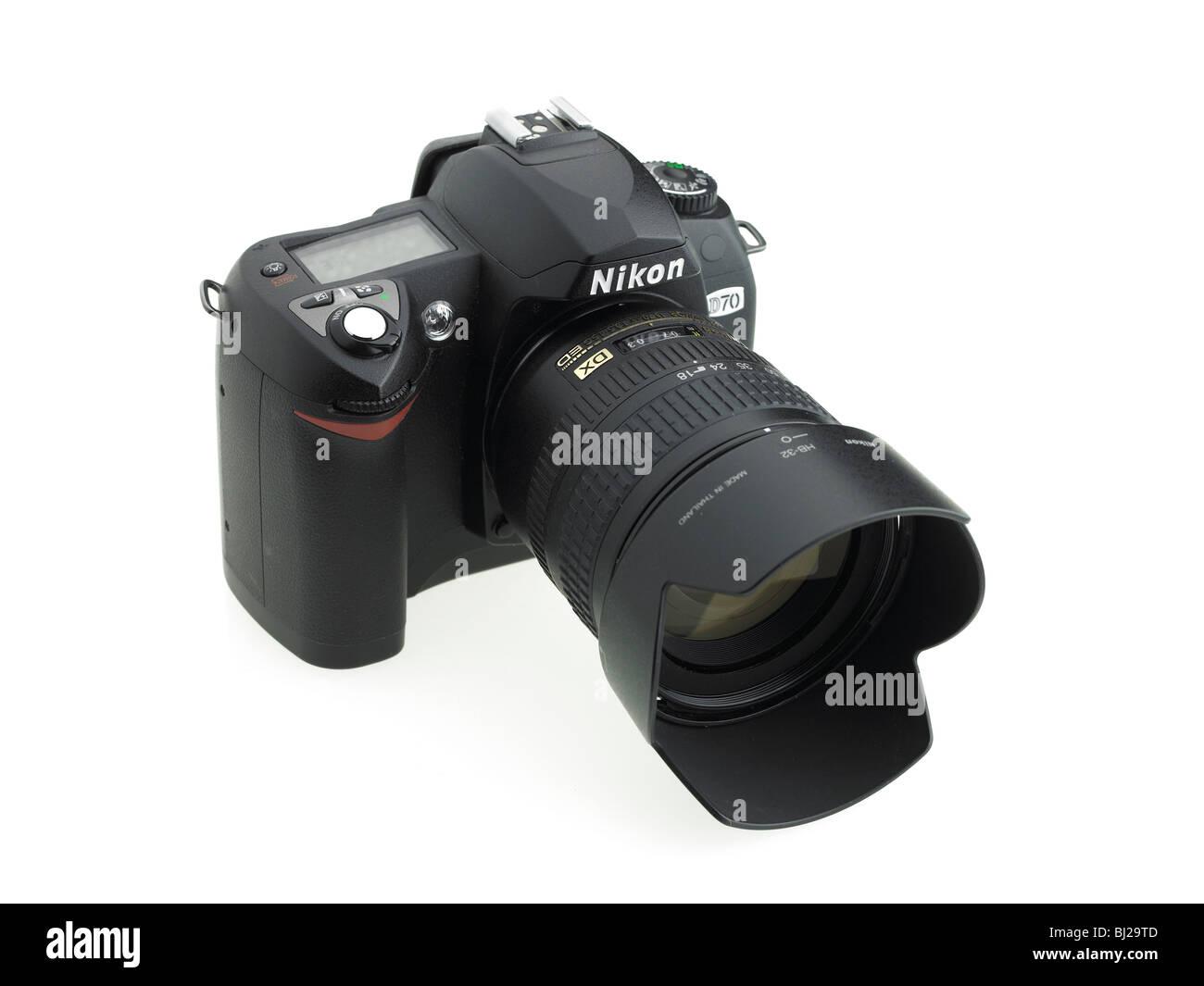 Nikon DSLR camera - Stock Image