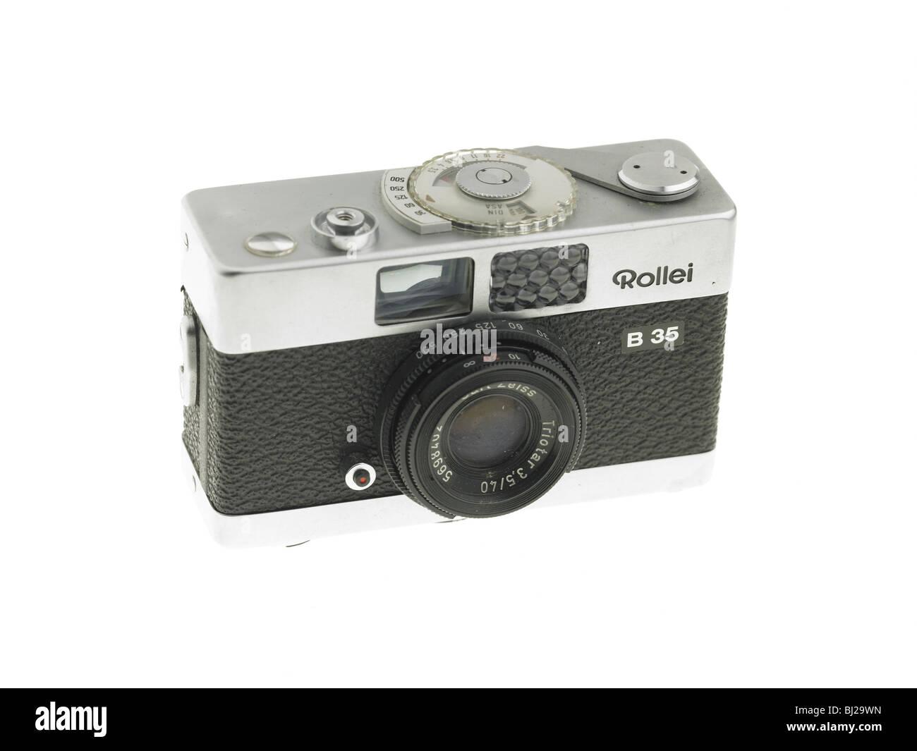 compact film camera Stock Photo