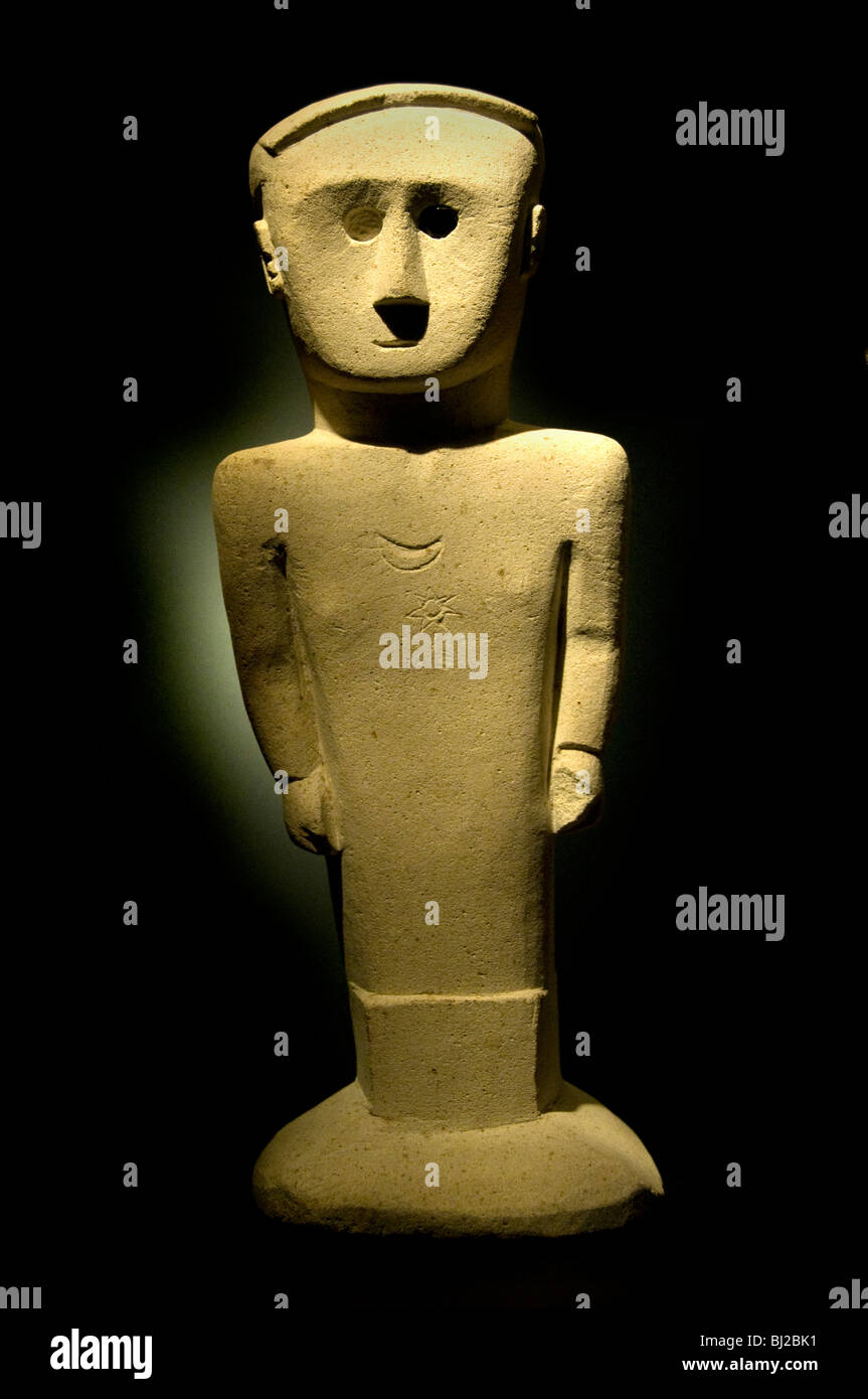 Lesser Sunda Islands indonesia Statue Sculpture - Stock Image