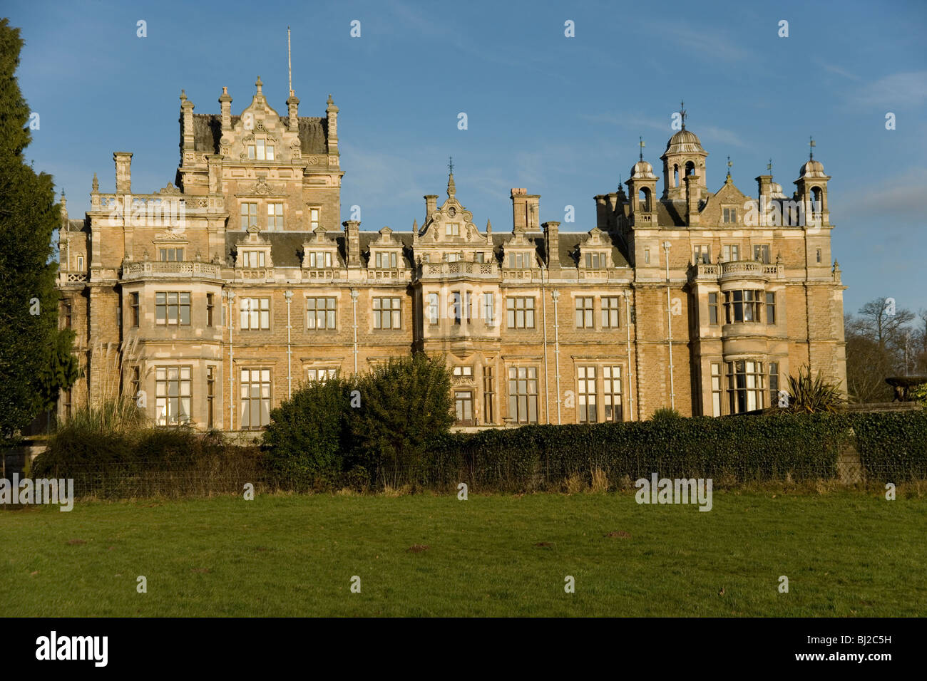 Thoresby Hall in Nottinghamshire England - Stock Image