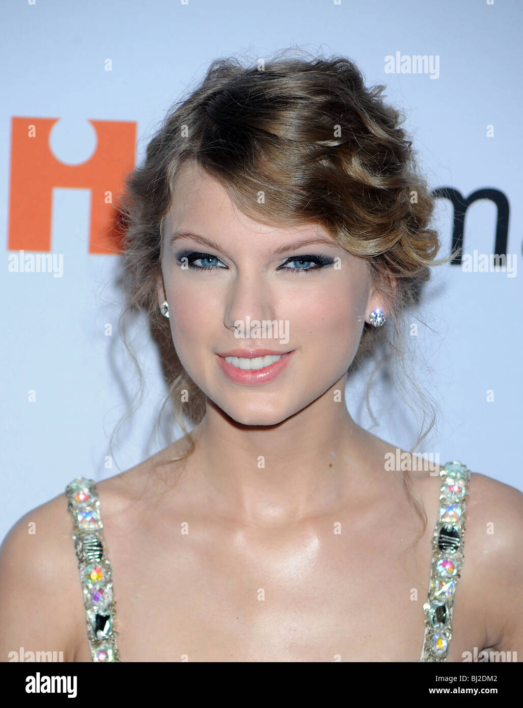 TAYLOR SWIFT - US singer and  actress in January 2010 - Stock Image