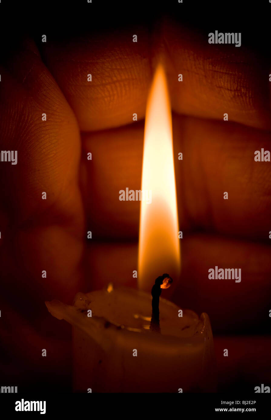 Candle Flame Stock Photos & Candle Flame Stock Images
