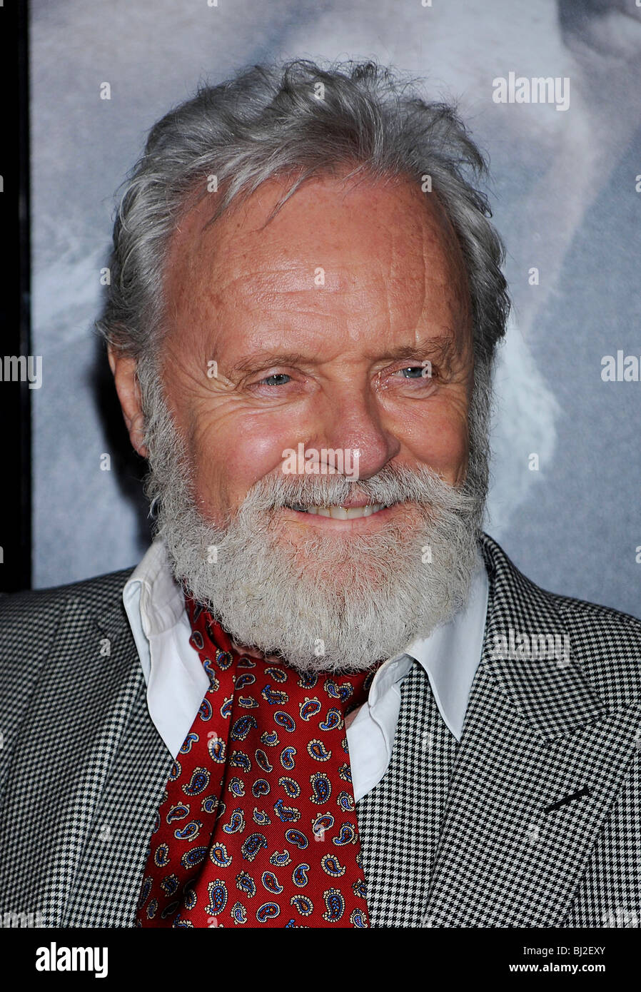 SIR ANTHONY HOPKINS - UK film actor in February 2010 - Stock Image