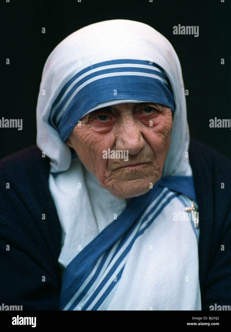 Mother Teresa Portrait Stock Photos Mother Teresa Portrait Stock