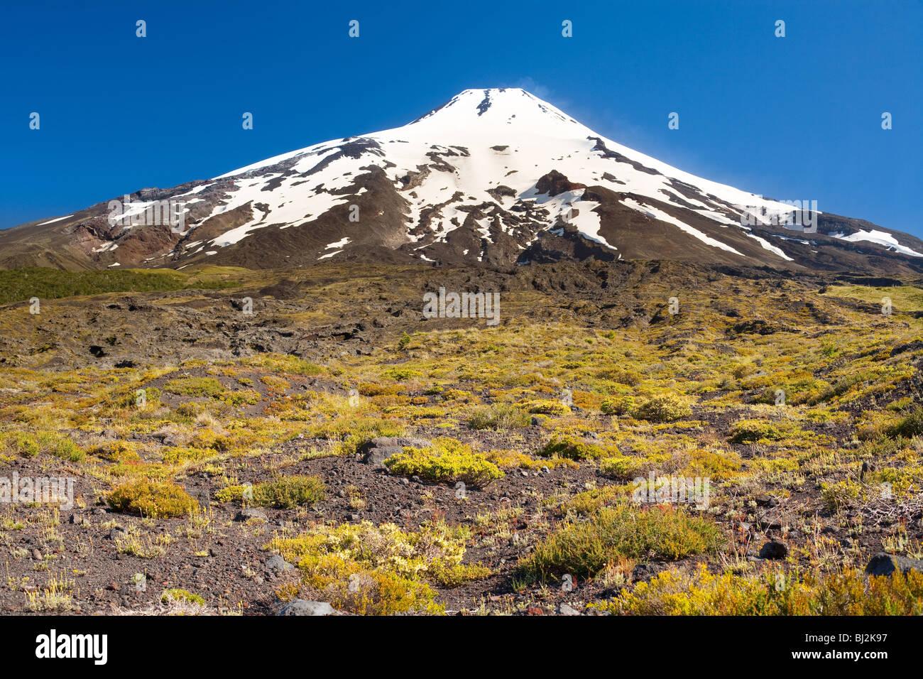 Villarrica volcano, Chile, South America - Stock Image