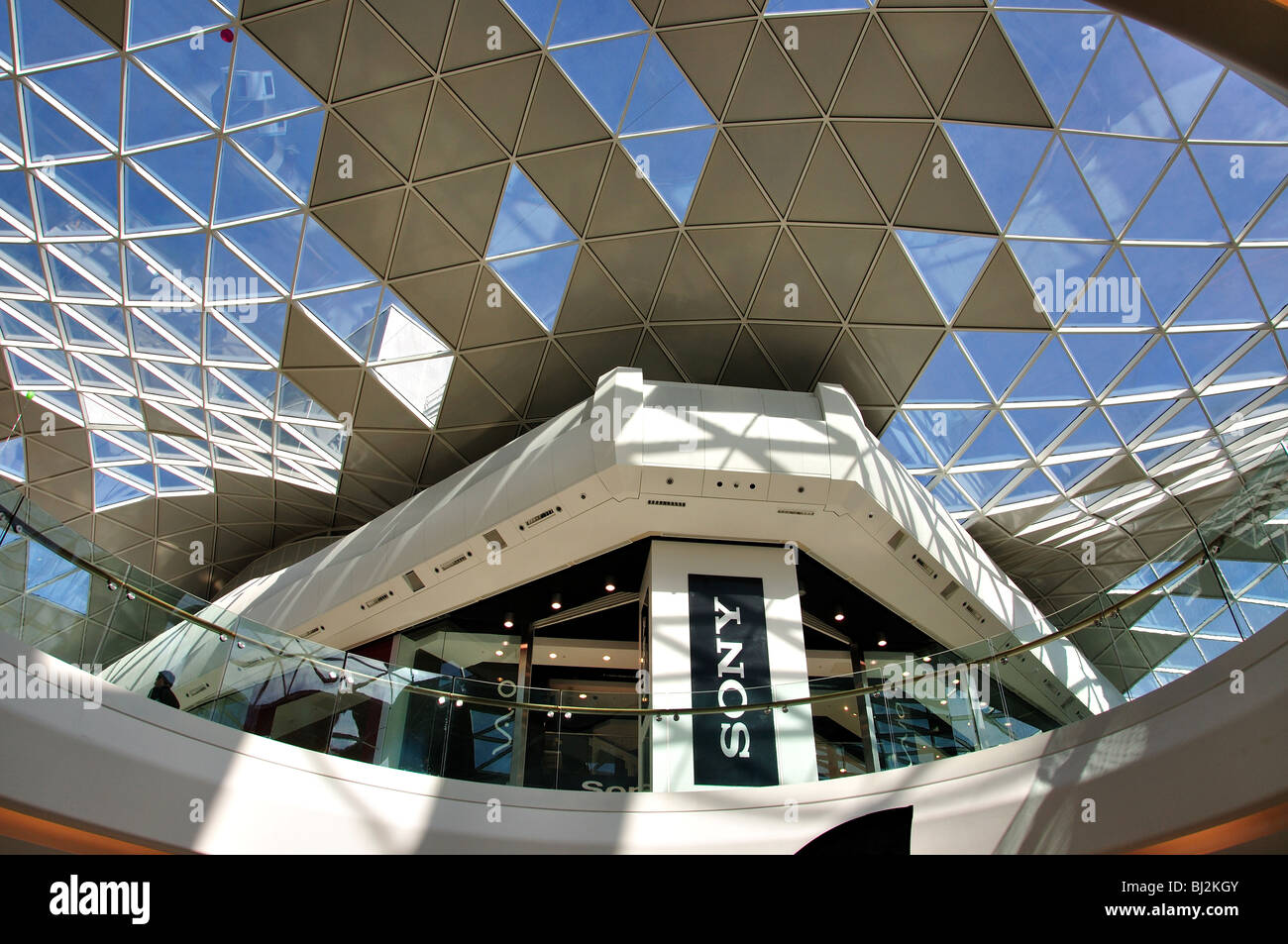 Ceiling using natural light westfield shopping centre shepherds ceiling using natural light westfield shopping centre shepherds bush london borough of hammersmith and fulham london england united kingdom mozeypictures Image collections