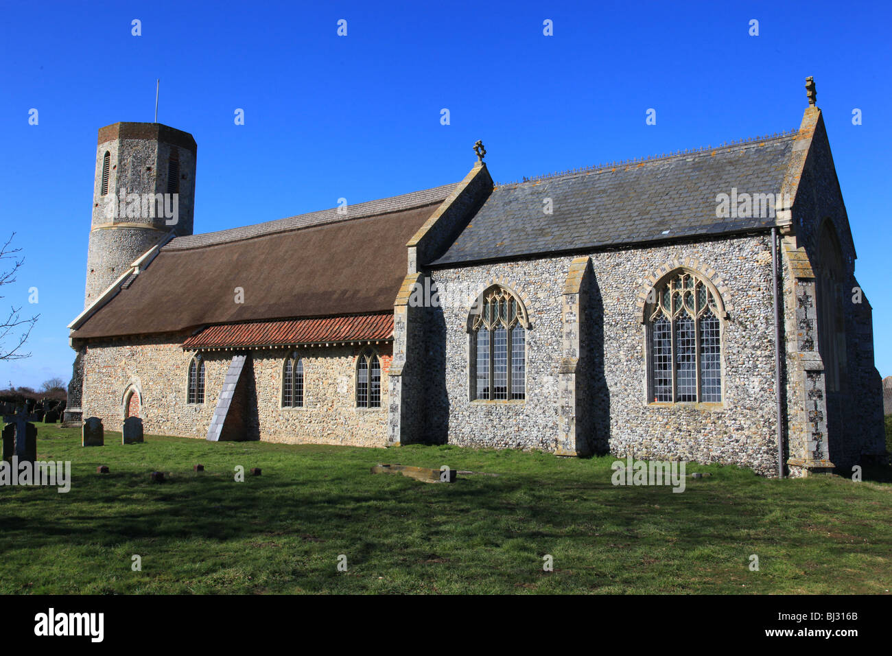West Somerton Church, Norfolk, England - Stock Image