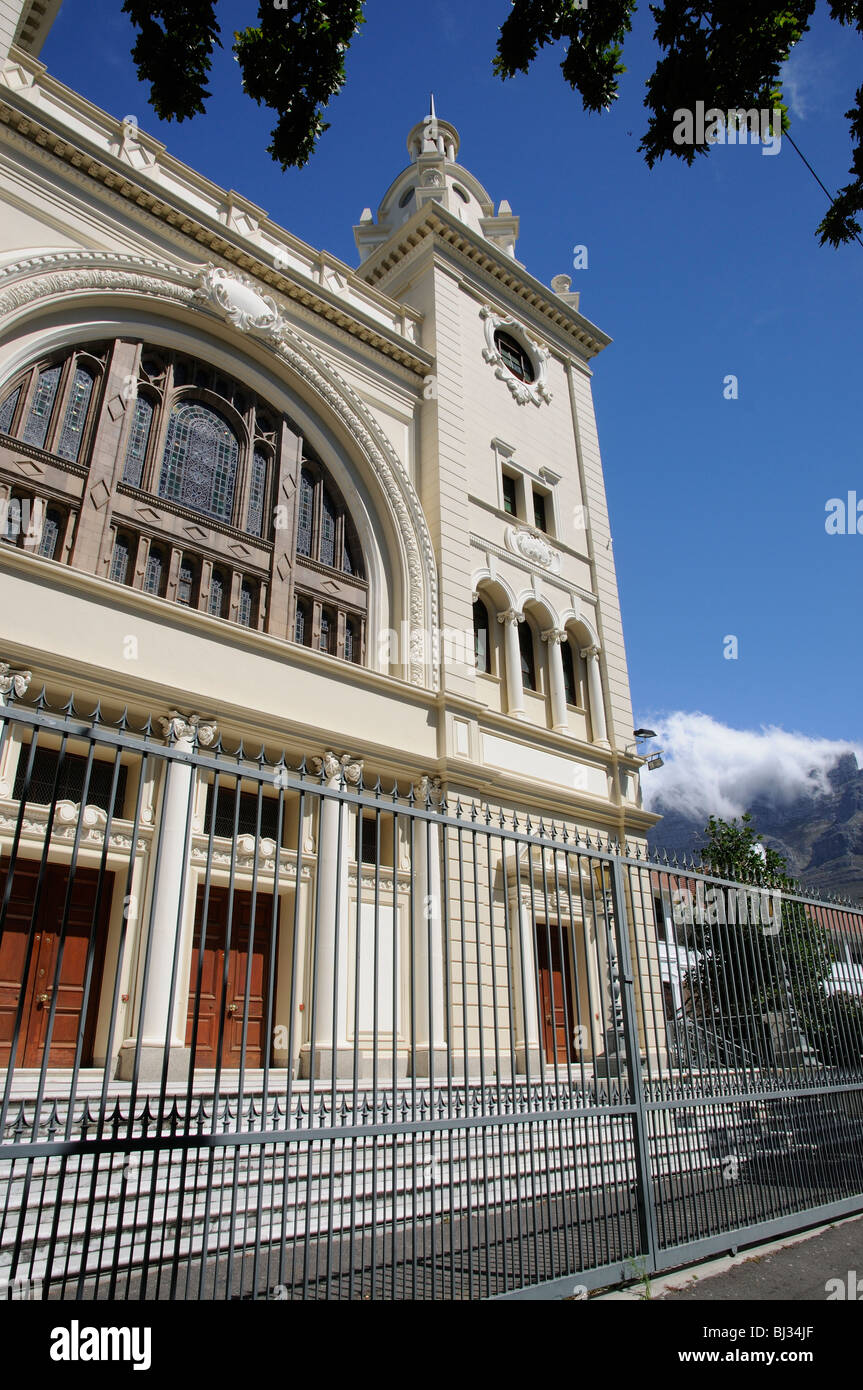 Mother Synagogue of South Africa The Garden Shul Great Synagogue in Company Garden Cape Town - Stock Image