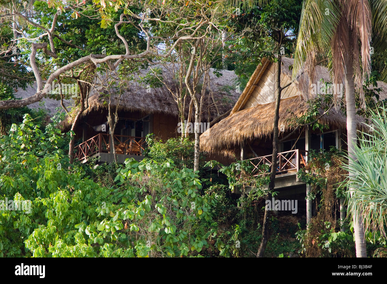 Exceptional Koh Lanta Beach Bungalows Part - 11: Bamboo Bungalows Of The Narima Resort, Klong Nin Beach, Ko Lanta Or Koh  Lanta Island, Krabi, Thailand, Asia