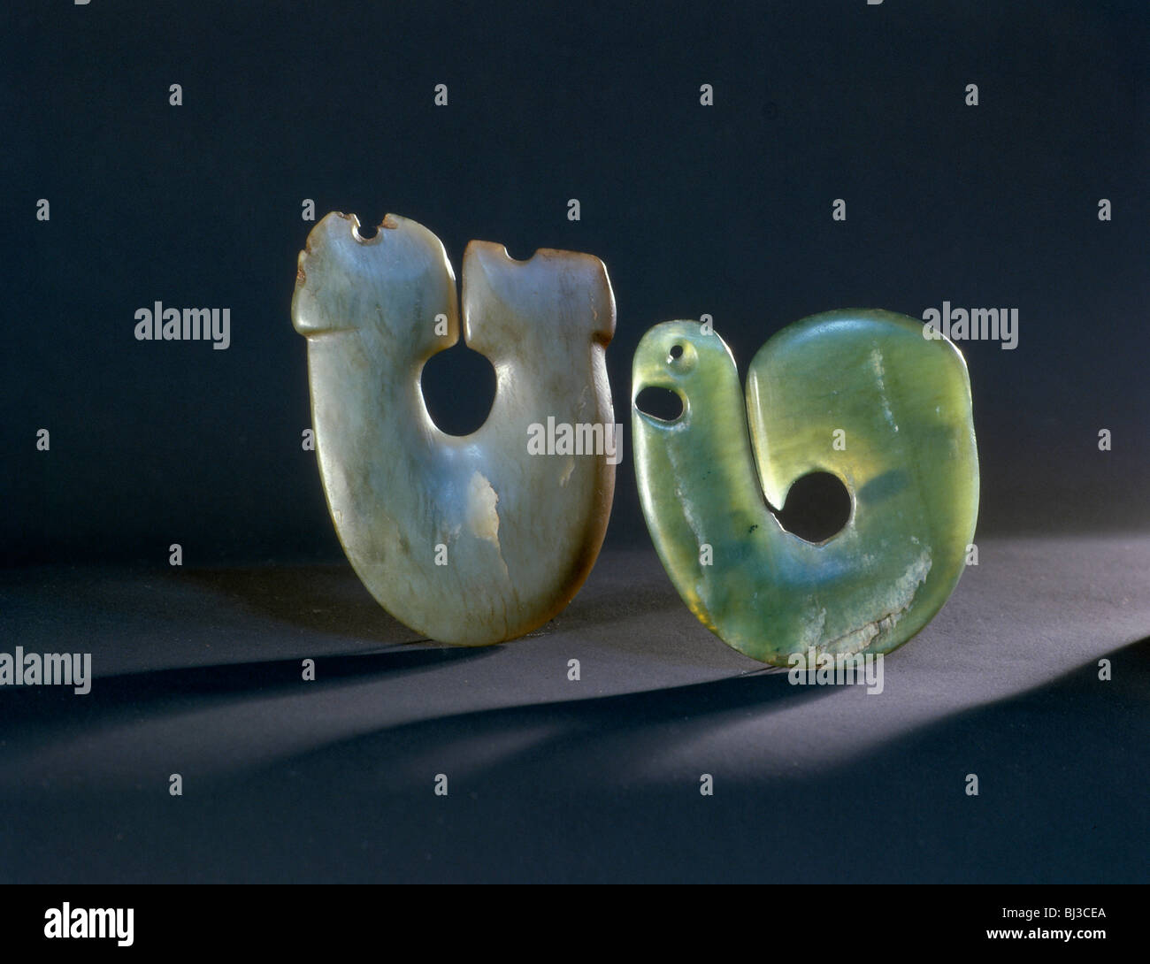 Green jade maori hei matau fish hook pendants new zealand artist green jade maori hei matau fish hook pendants new zealand artist werner forman mozeypictures