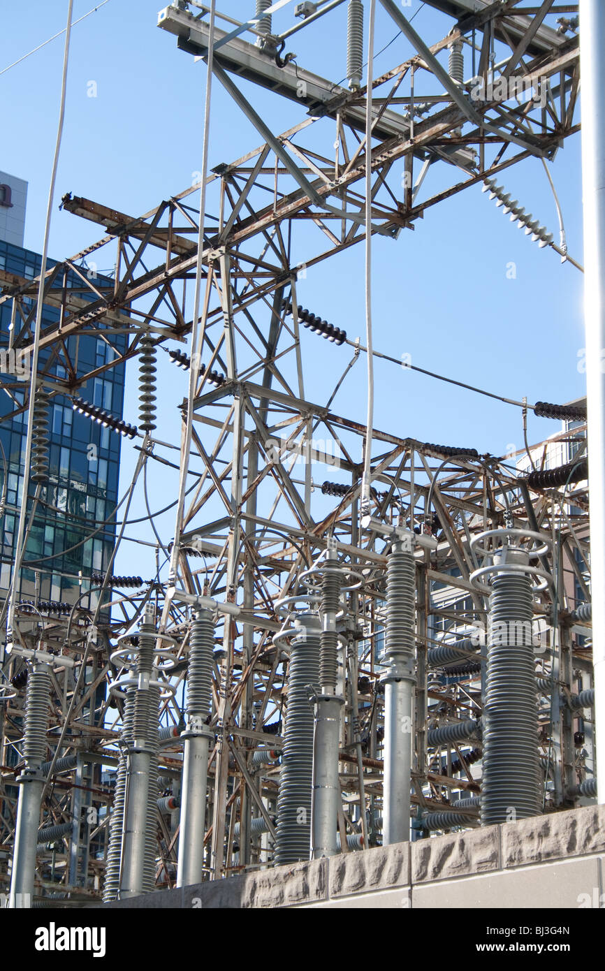 Remarkable Electric Distribution Substation Surrounded By High Rise Commercial Wiring Database Pengheclesi4X4Andersnl