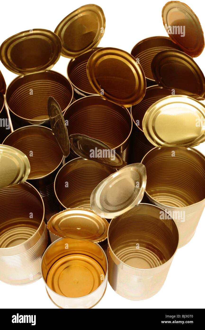 Empty Tin Can Stock Photography: Empty Food Cans Stock Photos & Empty Food Cans Stock