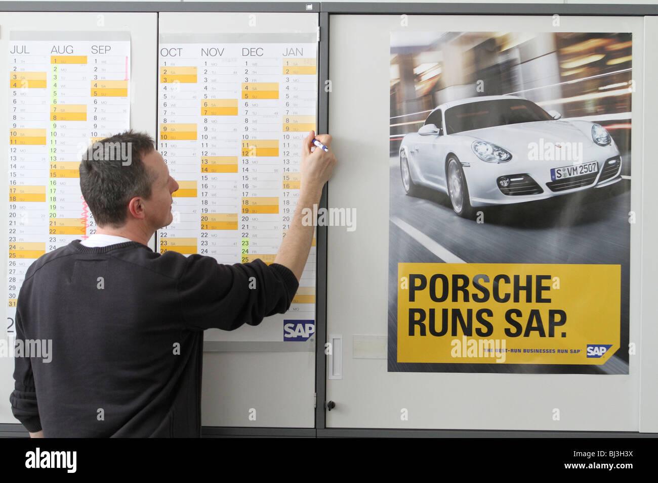 SAP headquarters, Walldorf, Germany. office, building, it-company, business software, porsche runs sap. - Stock Image