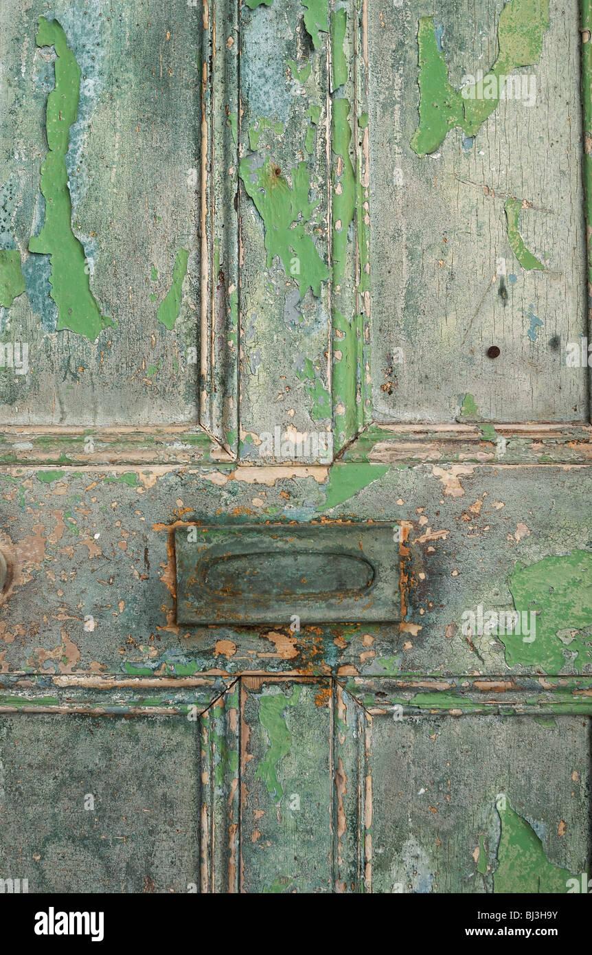 Old Door - Stock Image