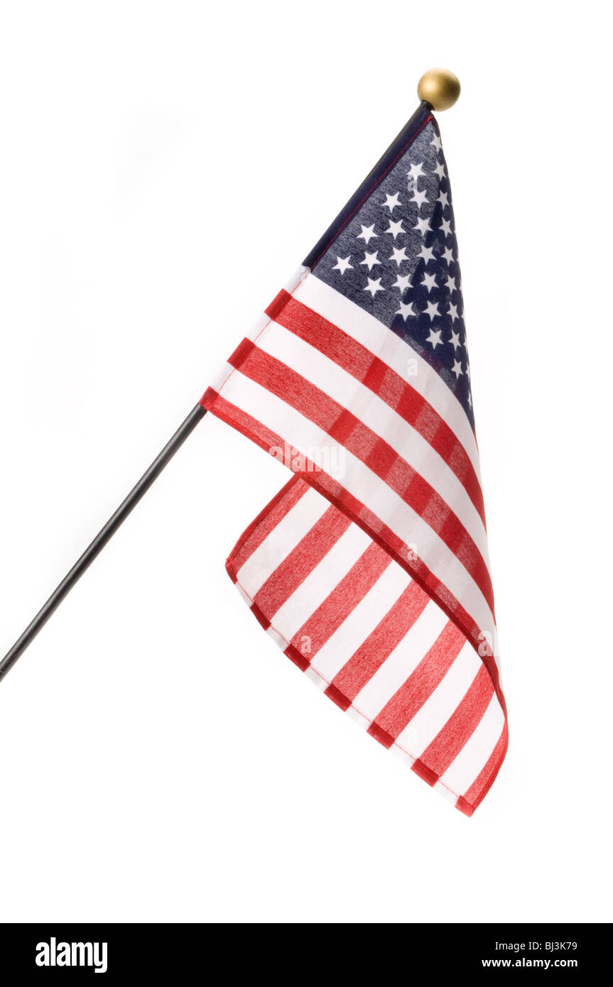 small american flag - Stock Image