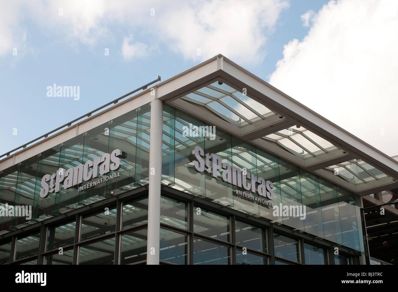 St Pancras Station, London, UK - Stock Image