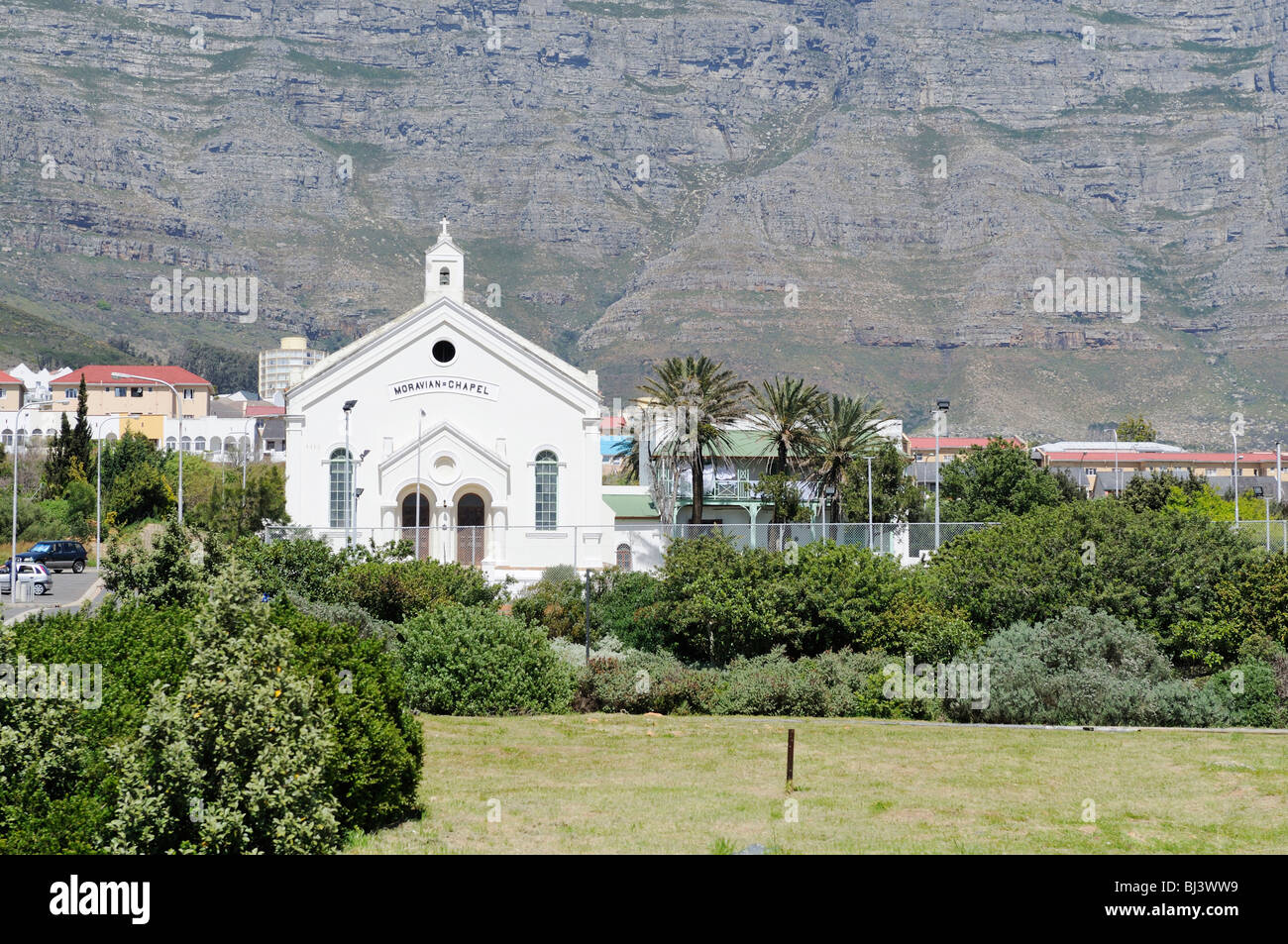 Moravian Chapel, Cape Town, South Africa, Africa - Stock Image
