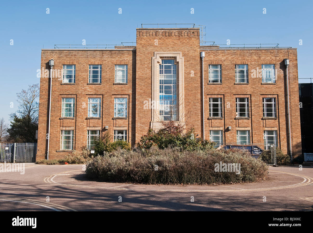 The Clarendon Laboratory, Oxford, part of the Physics Department. It houses the atomic and laser physics groups - Stock Image
