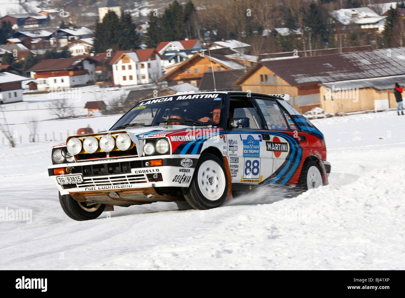 Lancia Delta Integrale Martini, former World Rally Championship car ...