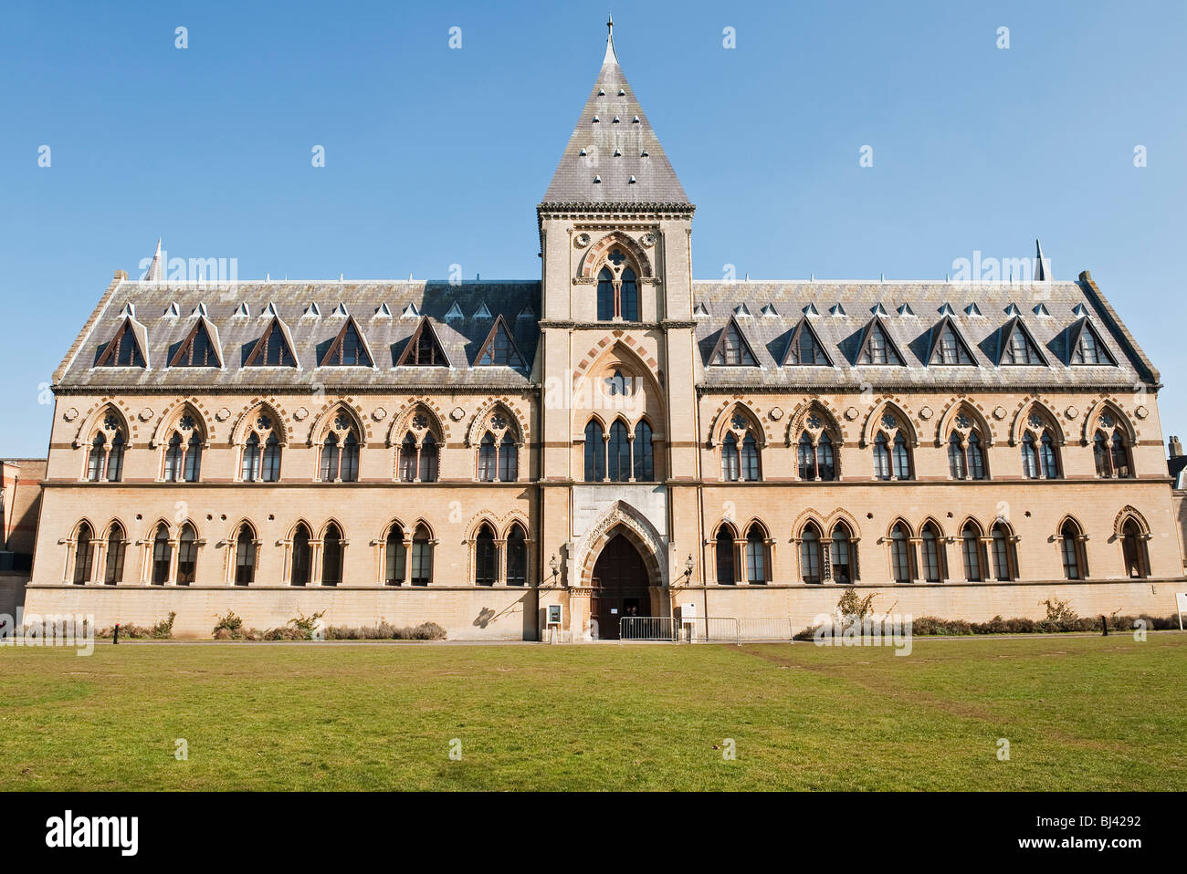 The Oxford University Museum of Natural History, containing the Pitt Rivers Museum - Stock Image