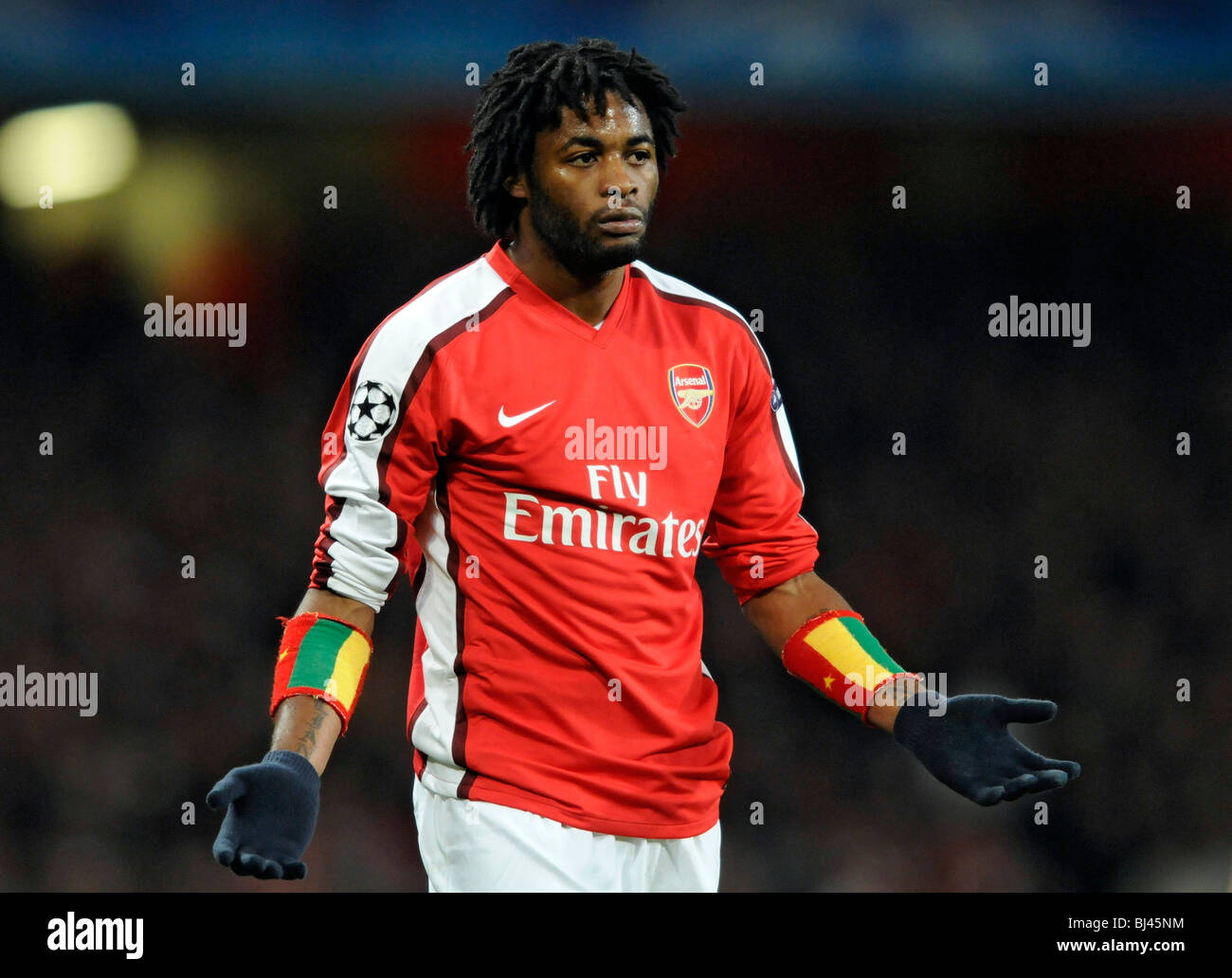 Arsenal No 17 Alexandre Song, Arsenal V Porto UEFA Champions League