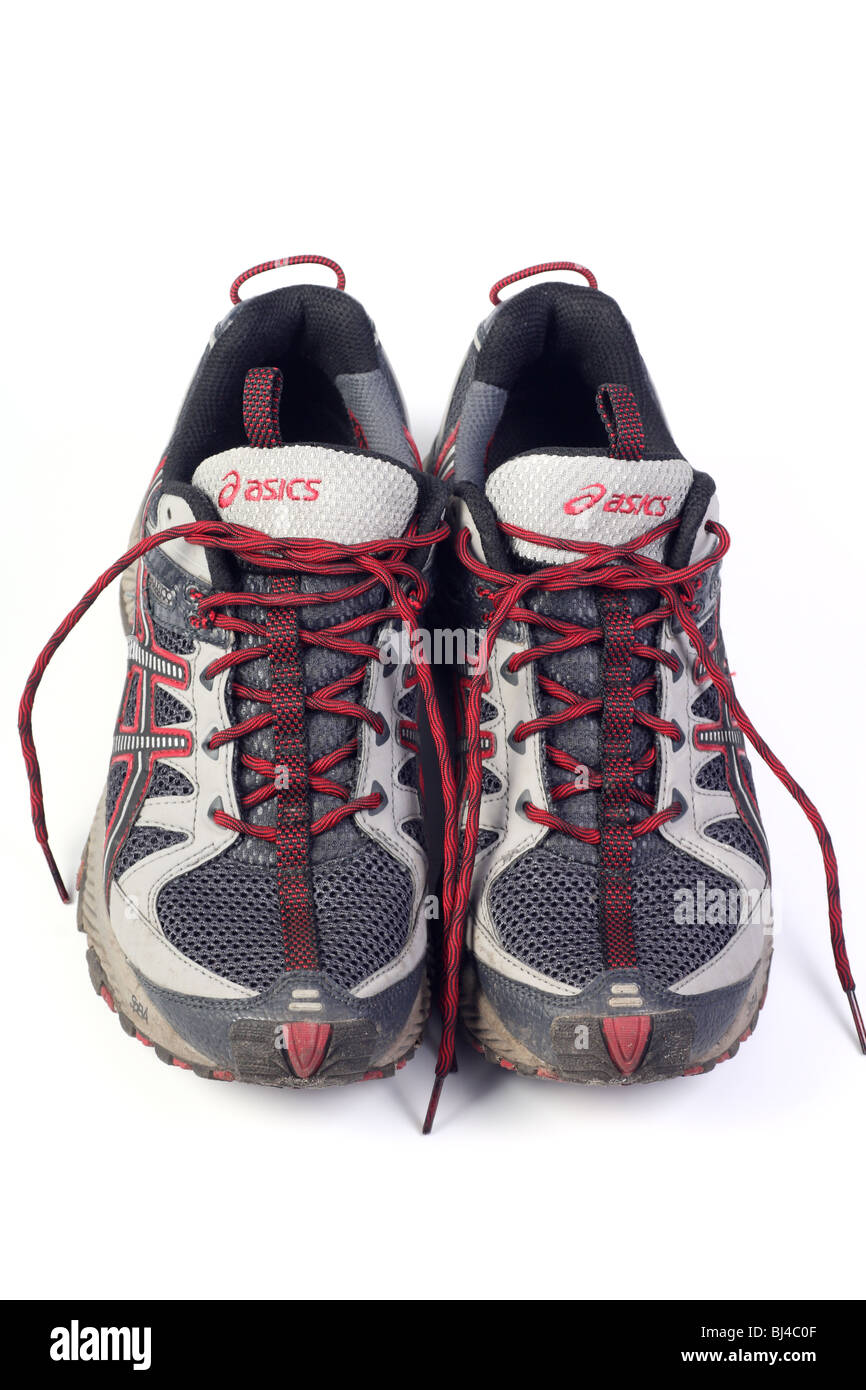 Running shoes isolated Stock Photo