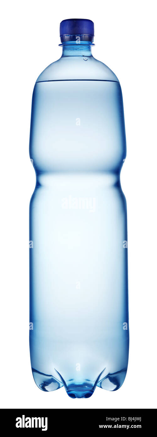 Plastic bottle of water - Stock Image