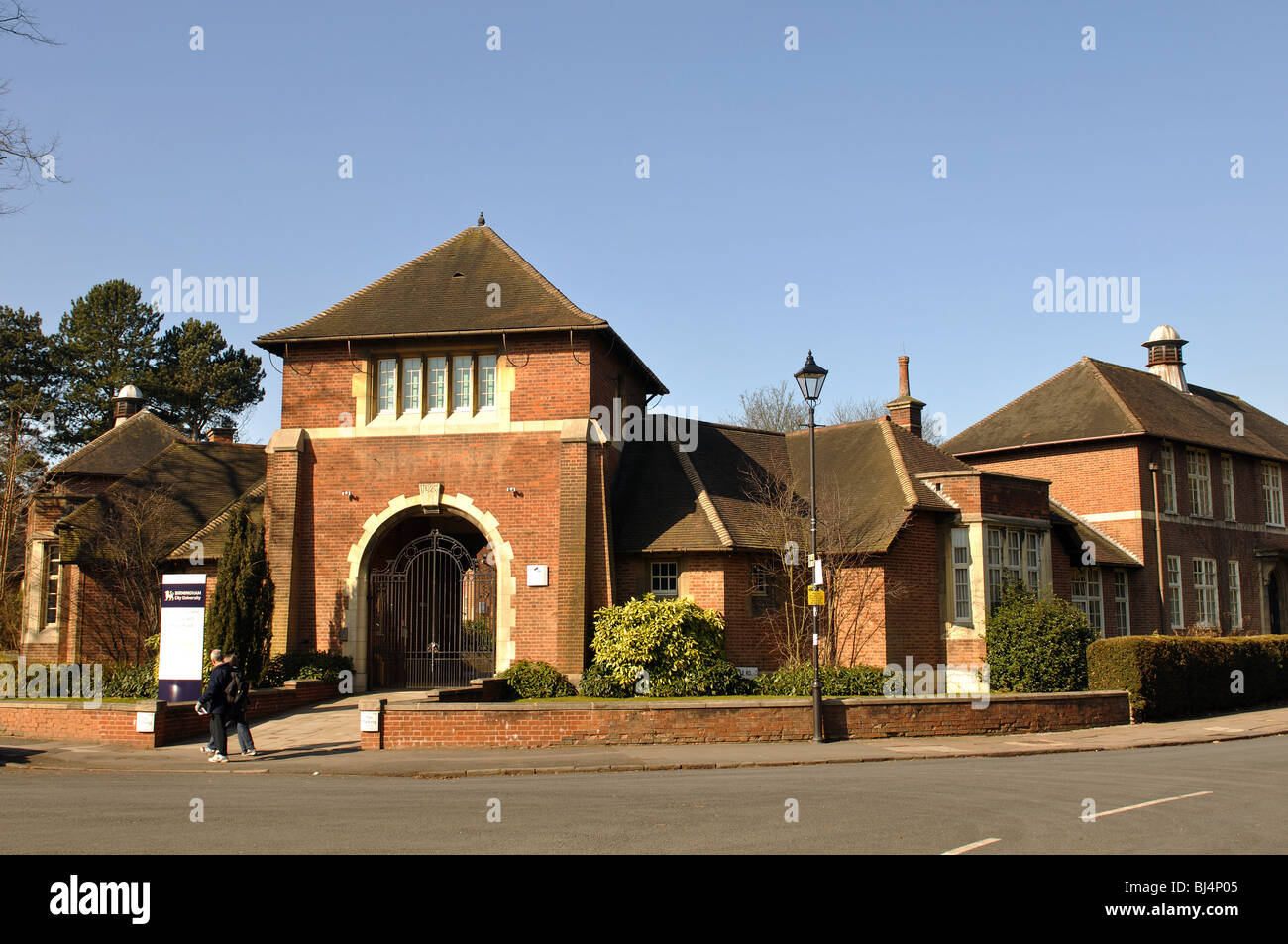 Bournville Centre for Visual Arts, Bournville, Birmingham, England, UK - Stock Image