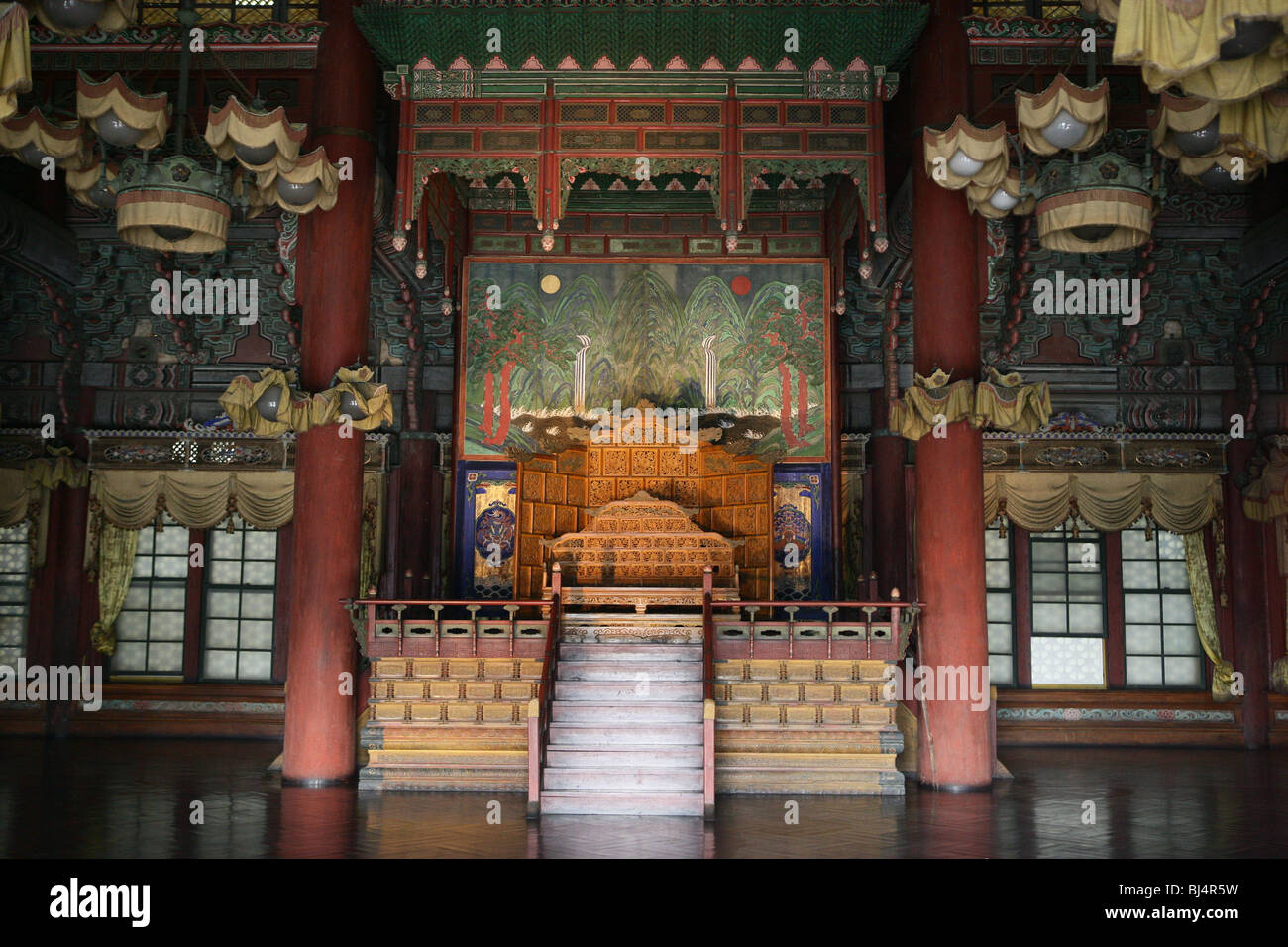 SOUTH KOREA. SEOUL. Changdeokgung Palace, built in the fifteenth century by the Joseon Dynasty. Unesco World Heritage - Stock Image