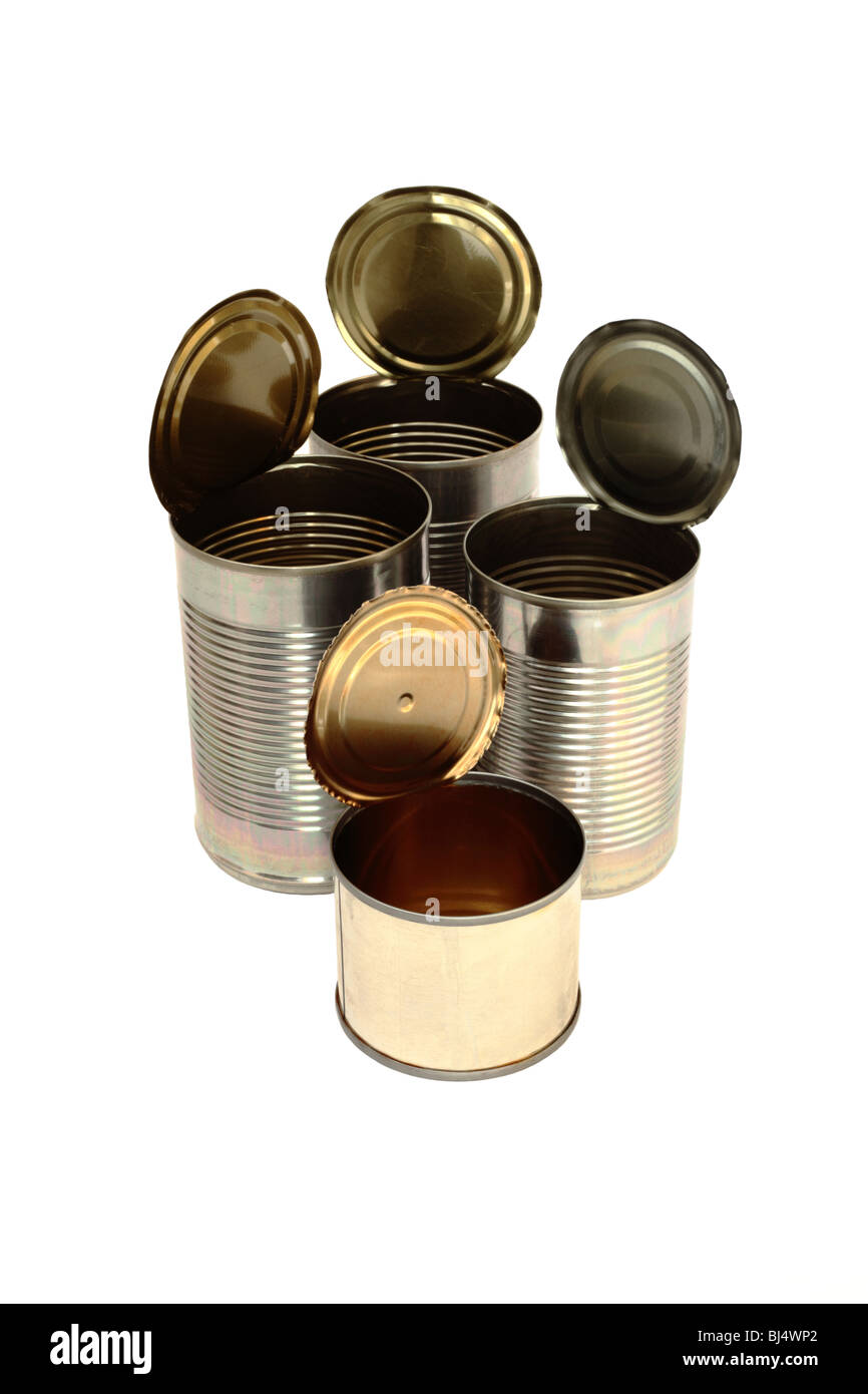 Empty Tin Can Stock Photography: Metal Cans Cut Out Stock Images & Pictures