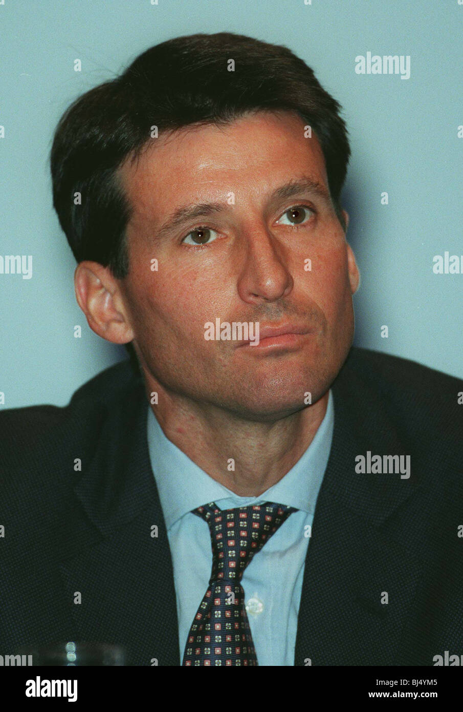 SEBASTIAN COE CONSERVATIVE PARTY 17 October 1996 - Stock Image