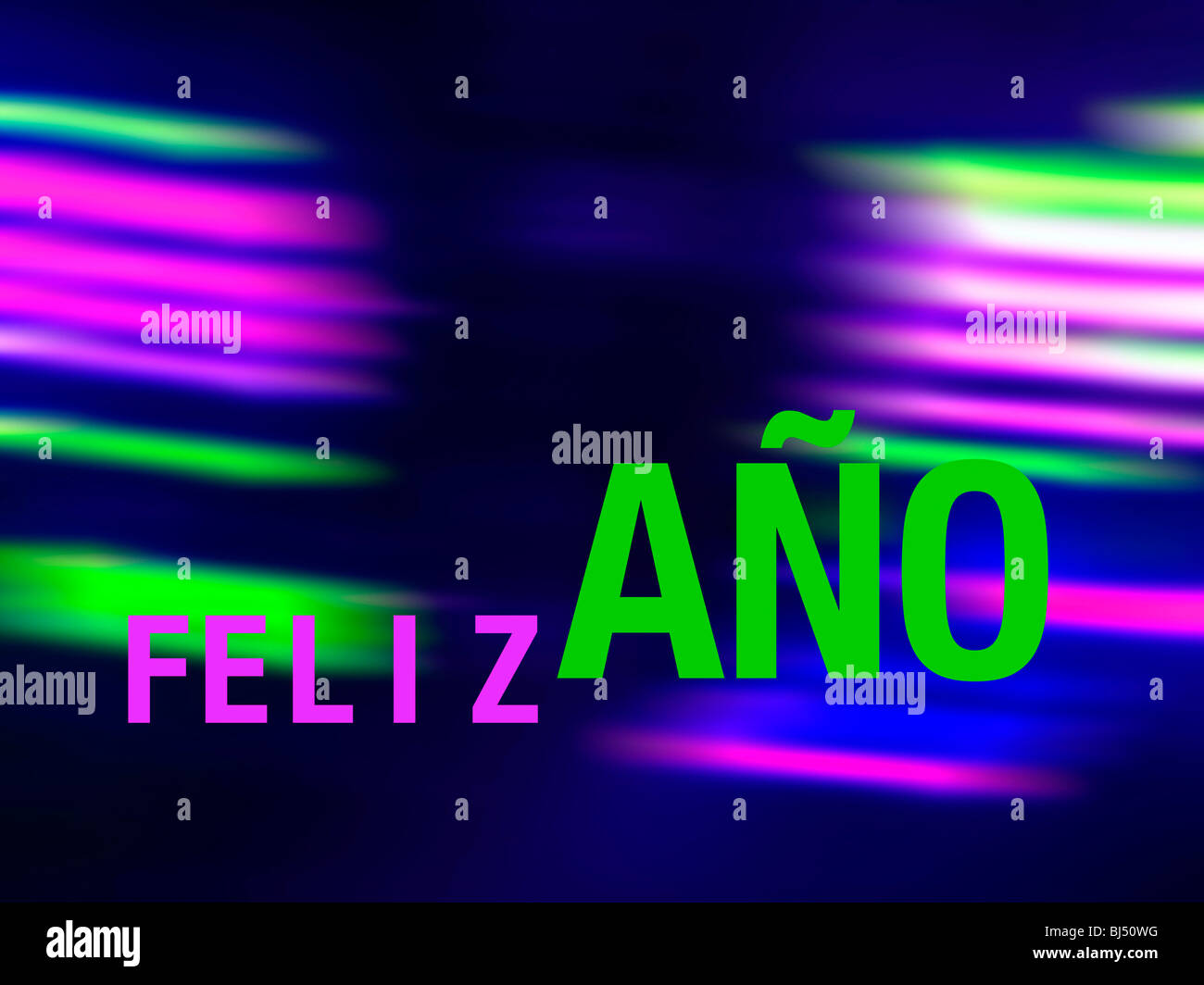 feliz ao spanish new year card