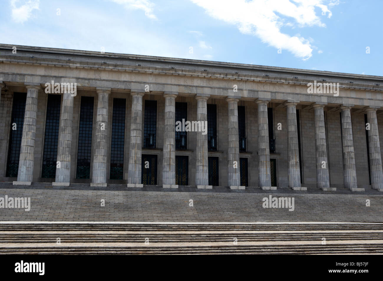Buenos Aires University laws school of law faculty in recoleta capital federal buenos aires republic of argentina - Stock Image