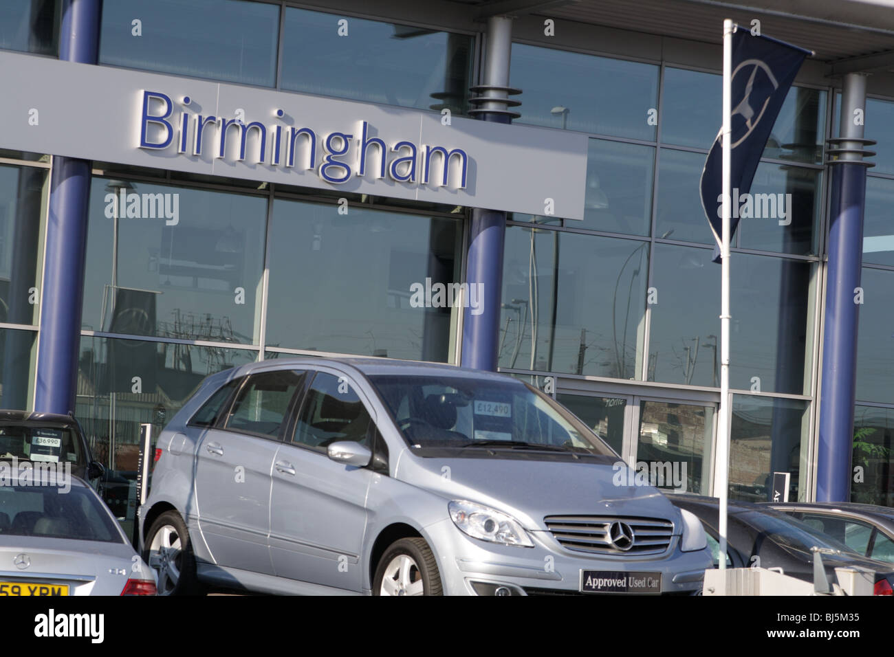 New and used Mercedes cars for sale, showroom, Birmingham, Great ...
