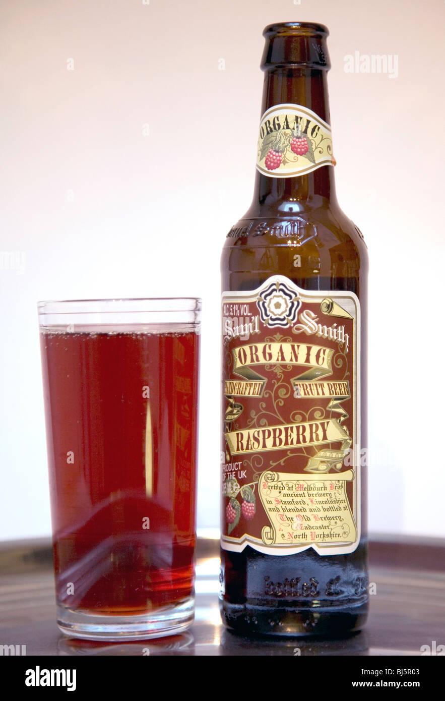 Samuel Smiths Organic Fruit Beer Glass