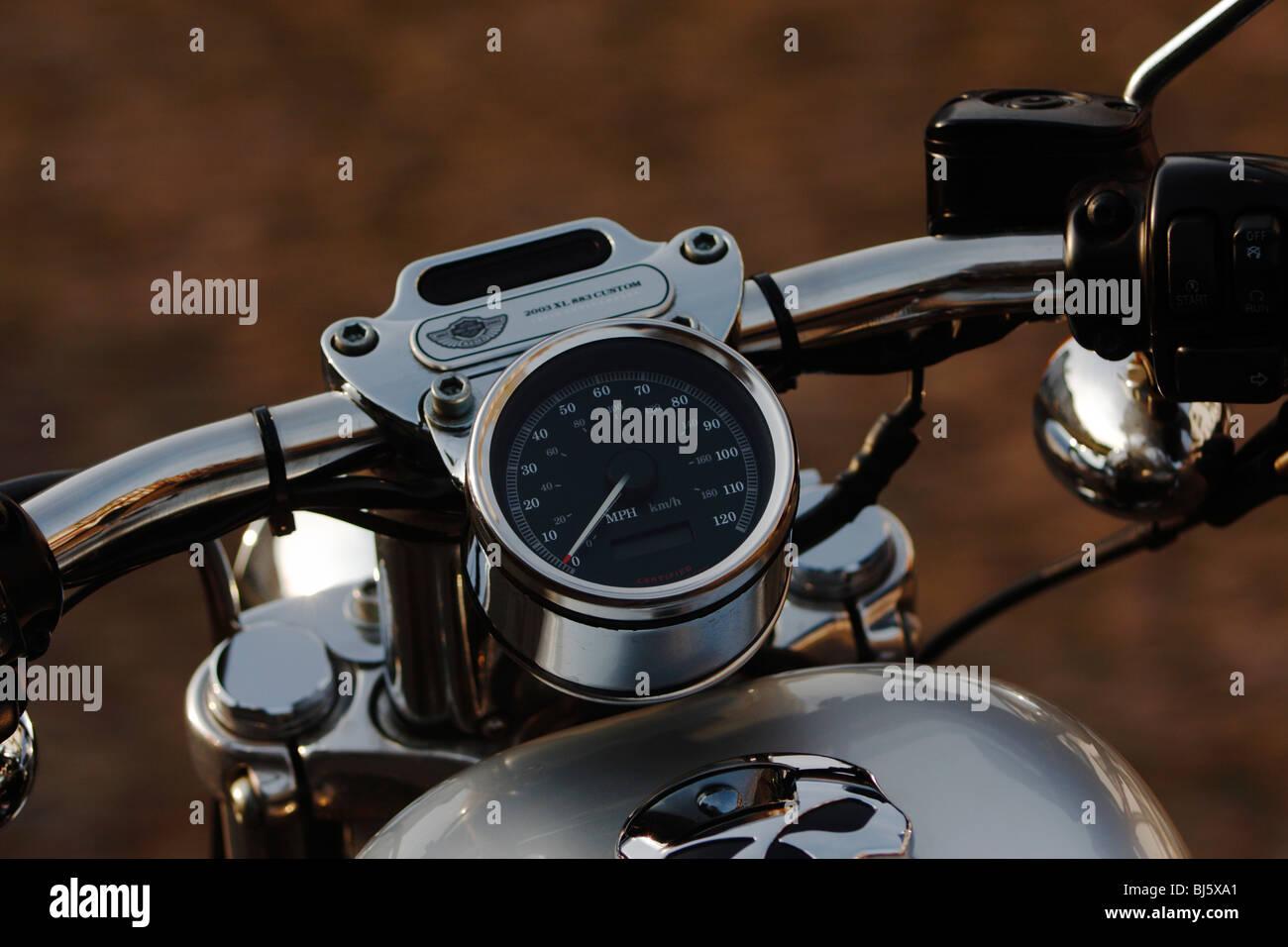 Harley Davidson Tank Badge Stock Photos & Harley Davidson Tank Badge