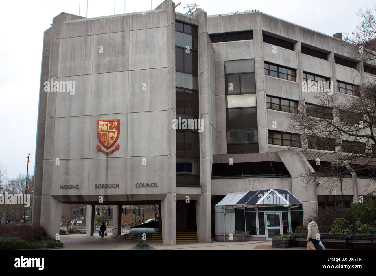 Woking Borough Council offices - Stock Image