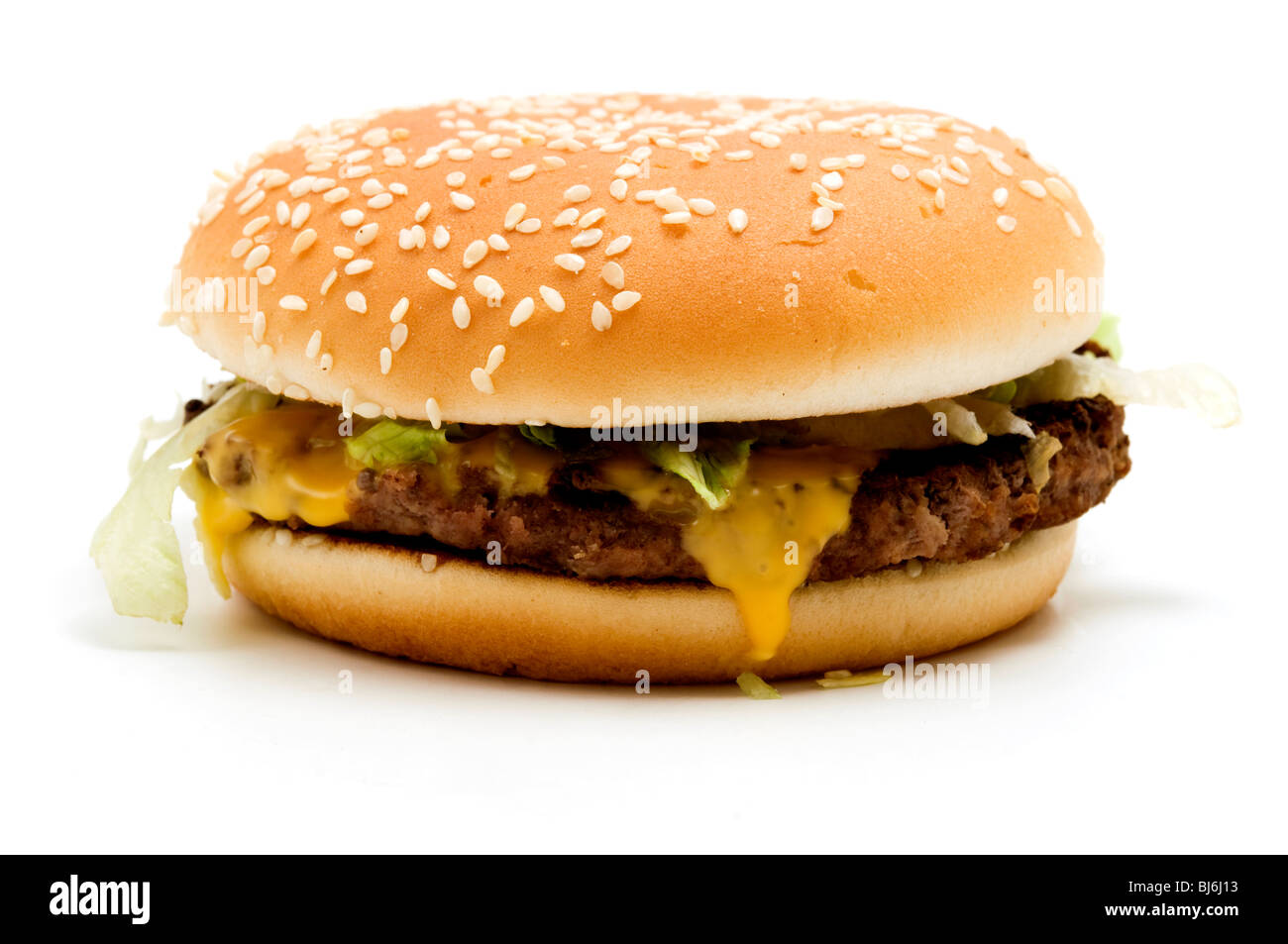 Real McDonald's McRoyal Deluxe - Stock Image