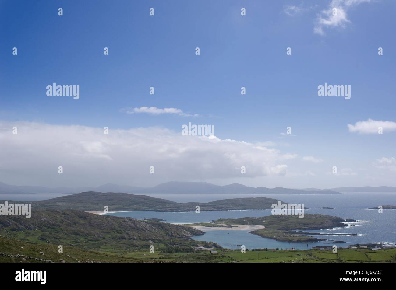 Irish Landscape - John Gollop - Stock Image