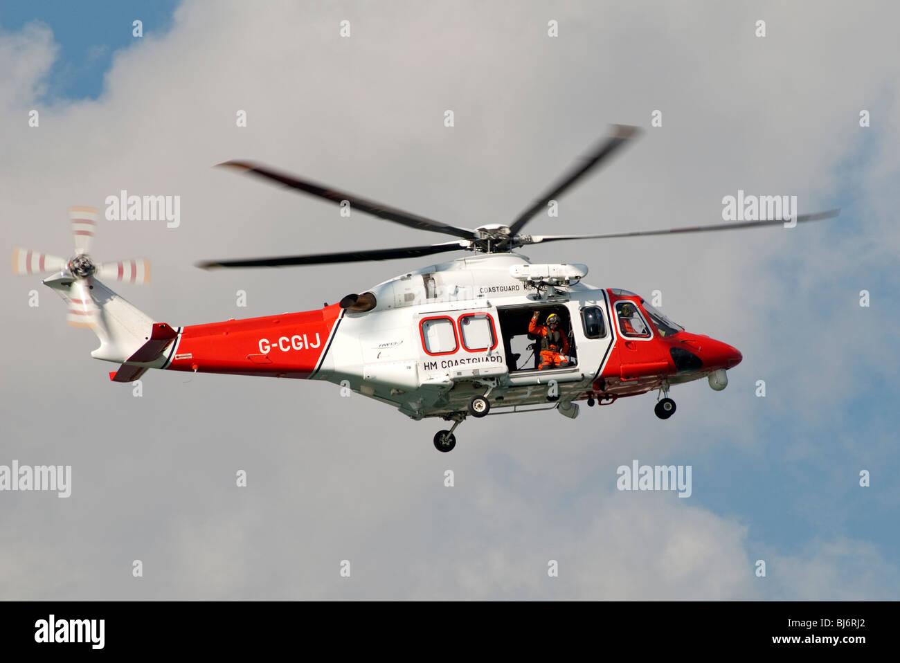 coast guard helicopter Stock Photo: 28424426 - Alamy
