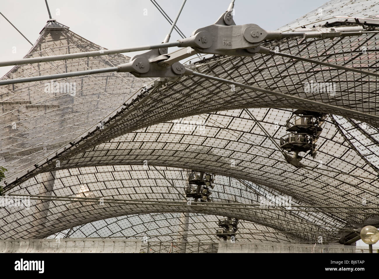 Frei Otto Tensed Structures For The Munich 72 Olympic