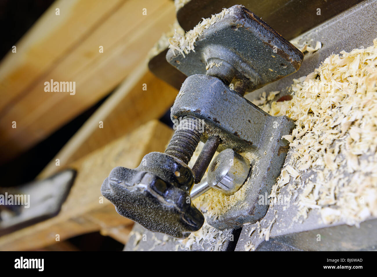 The Carpenter's Workshop - Clamp - Stock Image