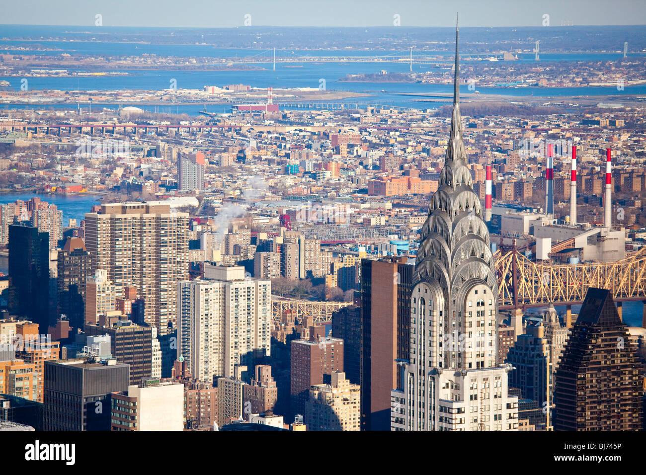 Chrysler Building, New York City - Stock Image
