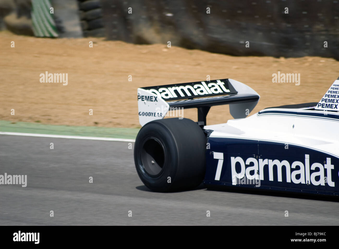 Old Brabham f1 car racing at Brands Hatch Stock Photo: 28435440 - Alamy