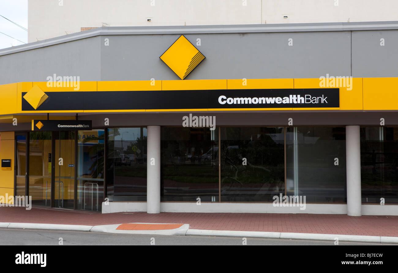 Commonwealth Bank. - Stock Image